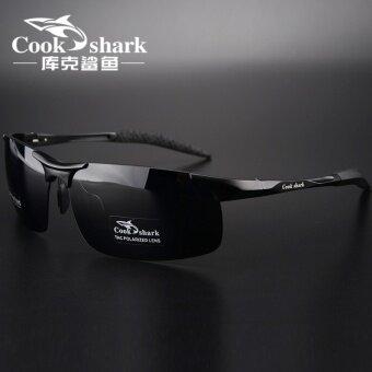 Cookshark โพลาไรซ์ขับรถขับรถคนขับรถแว่นตาแว่นกันแดด
