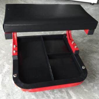 Creeper / Mechanic Seat เก้าอี้ช่างแบบมีล้อเลื่อน อิสระ 4 ล้อพร้อมถาดใส่ของ แถมฟรี มีดพับขนาดบัตรเครดิต - 3