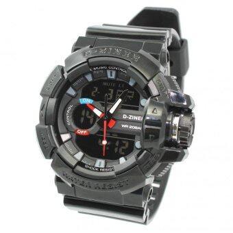 2561 D-ZINER นาฬิกาข้อมือผู้ชาย สายซิลิโคน รุ่น DZ-8089