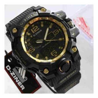 D-ZINER นาฬิกาทรงสปอร์ต รุ่น DZ8156