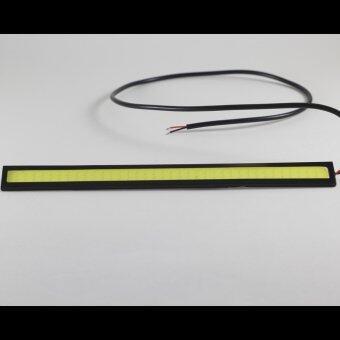 รายละเอียดรูปภาพ ไฟกลางวันDaytime Running Light (DRL) 17CM 12v. ขอบดำ