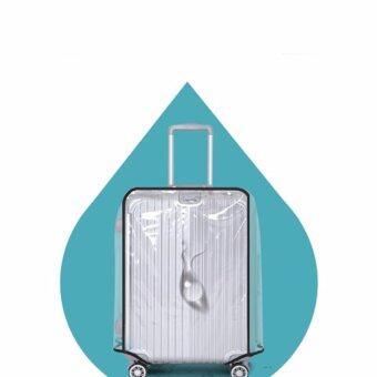 DCพลาสติกใสคลุมกระเป๋าเดินทาง 28-30 นิ้ว กันเปื้อน กันริ้วรอยและกันน้ำ PVC Cover