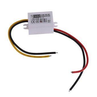 ซื้อ DC12V Step Down to 5V 3A 15W Converter Car Display Power SupplyModule - Intl - intl