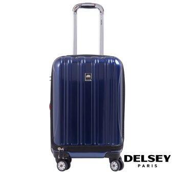 DELSEY กระเป๋าเดินทางแบบล้อลาก รุ่น HELIUM AERO ขนาด 21 นิ้ว สีน้ำเงิน
