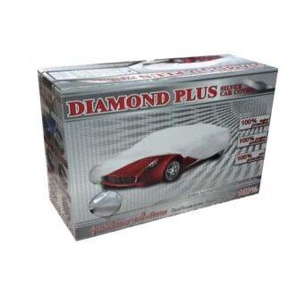 Diamond Plus ผ้าคลุมรถ Silver ไซส์ S Toyota Vios Honda City Mazda 2