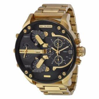 Diesel Mens Mr Daddy 2.0 Super XL 4 Time Watch - intl