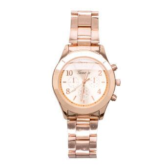 ประเทศไทย DM นาฬิกาข้อมือ Geneva -- Rose gold
