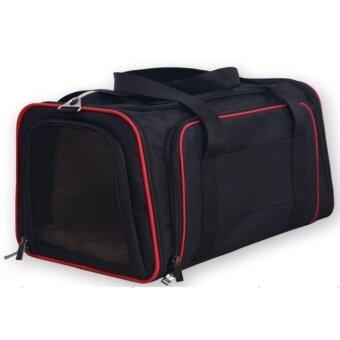 กระเป๋าใส่สัตว์เลี้ยงหมาแมว แบบหิ้ว สะพายข้าง กางออกได้เพิ่มความสะดวกสบาย ไม่อึดอัด รุ่น ...
