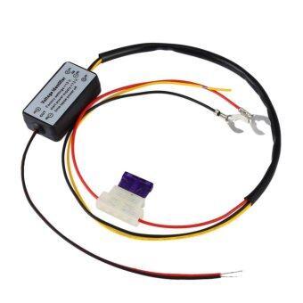 ซื้อ DRL Controller Auto Car Daytime Running Light Relay Harness Dimmer- intl