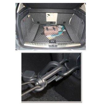 DTG ตาข่ายคลุมของอเนกประสงค์สำหรับใช้ในรถ หลังคารถและท้ายรถ (สีดำ) - 4