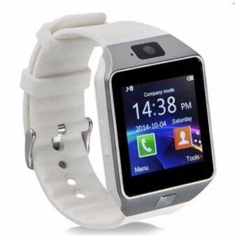 DZ09 Smart Watch Bluetooth Touch Screen for Android and iOS(white)- intl