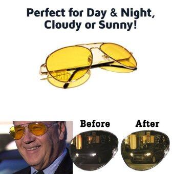 Elit แว่นตาขับรถกลางคืน แว่นตาตัดหมอก Night Vision Polarized 2