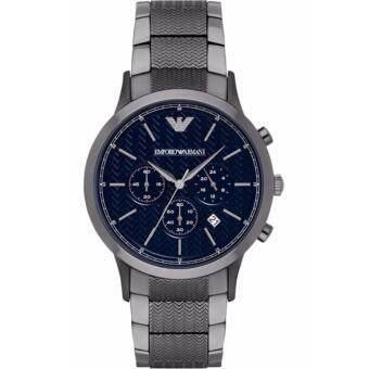 ประเทศไทย Emporio Armani Renato Navy Blue Dial Chronograph Men s Watch AR2505