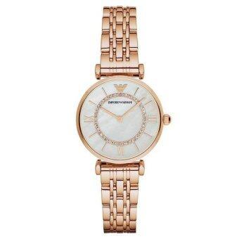 Emporio Armani Women's Wrist Watch Armani AR1909(Black)