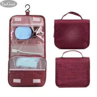 EsoGoa lกระเป๋าจัดระเบียบอุปกรณ์อาบน้ำ กระเป๋าแขวนในห้องน้ำ กระเป๋าจัดระเบียบ กระเป๋าจัดเก็บของใช้ส่วนตัว กระเป๋าอเนกประสงค์ กระเป๋าเครื่องสำอาง Toiletry Pouch Toiletry Bag Multi-functional Bag Cosmetic bag Bag Organizer