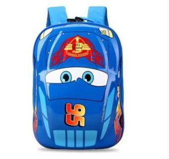 'EVA 3D Car Kid''s School Travel Bag Backpacks(Color:Main Pic) - intl'