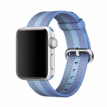 Fashion Nylon Watch Woven Band Classic Sport Replacement Strap forApple watch band iwatch Series 1 Series 2 iwatch 42mm - intl
