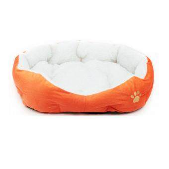 Harga Fashion Small Medium Pet Dog Puppy Cat Soft Fleece Cozy Warm NestBed House Cotton Mat