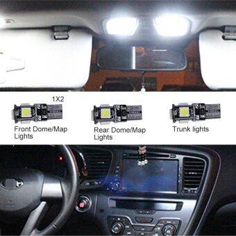 ซื้อ For Chevrolet Captiva Convenience Bulbs Car Led Interior Light C10WW5W Replacement Bulbs Dome Map Lamp Light Bright White 4 PCS PerSet - intl