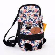 front facing pet carrier dog backpack portable dog front carrier breathable travel outdoor bag smalllips intl
