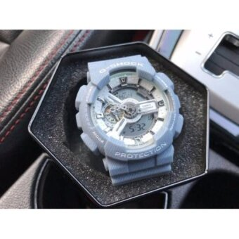 G-SHOCK DENIM LIGHT BLUE MEN WATCHES GA110DC-2A7DR OEM - intl