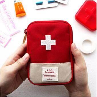 ลดราคา GizGift Medicine Pocket bag กระเป๋ายา กระเป๋าใส่ยาจัดระเบียบ และเครื่องสำอางค์จำเป็นต่างๆ