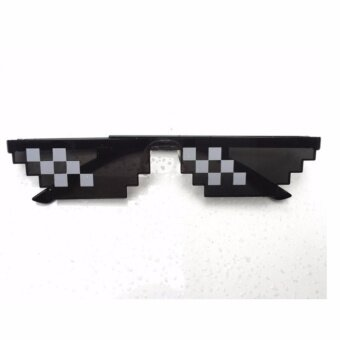 Glasses Thug Life 8 Bit Pixel Deal With IT Sunglasses Unisex HOTSELL Sunglasses LTT9250-2 - intl