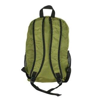 Golyte กระเป๋าเป้สะพายหลังพับได้ Foldable Daypackผ้ากันน้ำสำหรับเดินทาง กีฬา นำ้หนักเบา สีเขียว - 3