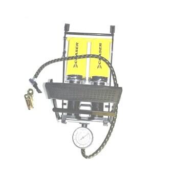 Goods24 Twin Barrel Foot pump สูบ ที่สูบลมแบบเท้าเหยียบคู่ - 2