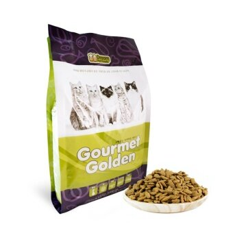 GOURMET GOLDEN กรูเม่ โกลด์เดิ้น อาหารแมวเม็ดสูตรเกาหลี 1.5kg แพ็ค 2 ถุง สูตรควบคุมก้อนขน รูบที่ 2