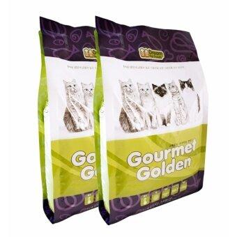 ซื้อ GOURMET GOLDEN กรูเม่ โกลด์เดิ้น อาหารแมวเม็ดสูตรเกาหลี 1.5kg แพ็ค 2 ถุง สูตรควบคุมก้อนขน