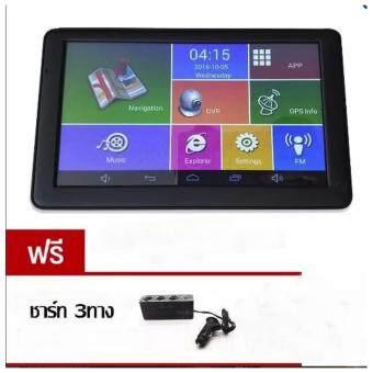 GPS 2in1 นำทางมีกล้องติดรถยนต์ รุ่นM18X (M515) Wifi BluetoothAV-IN