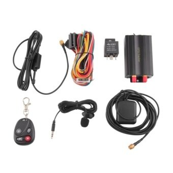 GPS GSM GPRS Car Vehicle SMS SOS Tracker TK103B withRemoteControlBlack - intl