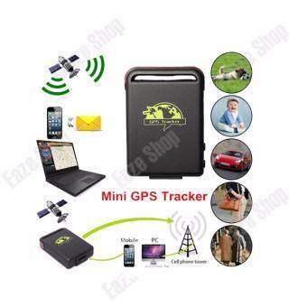 GSM GPRS GPS Tracker เครื่องจับจีพีเอส รุ่น TK102 Black