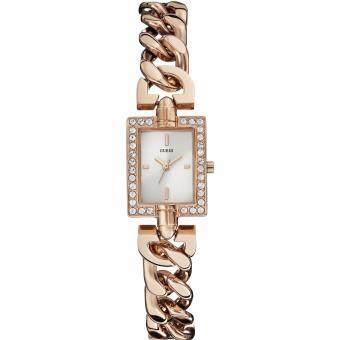 ราคา Guess Damen-Armbanduhr Analog Quarz Edelstahl beschichtet W0540L3