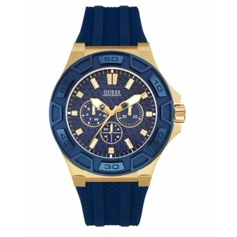 นาฬิกาข้อมือสุภาพบุรุษ Guess Men's Quartz Watch W0674G2 with Rubber Strap