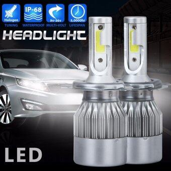 H4 110W 20000LM Hi/Lo LED Headlight Conversion Kit Car Beam BulbsDriving Lamps - intl