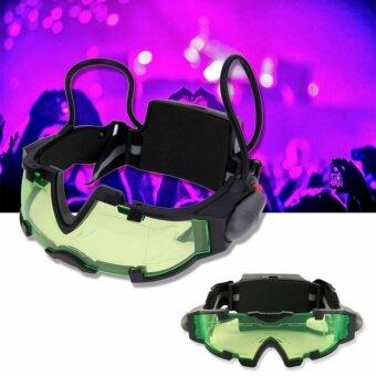 Heaven9 แว่นตา LED มองกลางคืน แว่นตาปาร์ตี้ แว่นตาเล่นบีบีกัน แว่นตาสาย EDM Night vision goggles รุ่น NVG201-YD