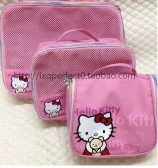 Hello Kitty น่ารักและการปฏิบัติจัดเก็บถุง
