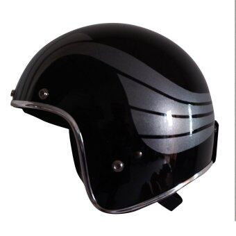 ต้องการขายด่วน Helmet Racer หมวกกันน็อค รุ่น FF.Pinion. B/Gray