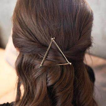 ... WOLF Kpop AnimationAntidust Cotton Mouth-. Source · ซื้อที่ไหน Hequ Women s Simple Elegant Metal Geometric Round Triangle MoonHairpin Hair Clip – intl