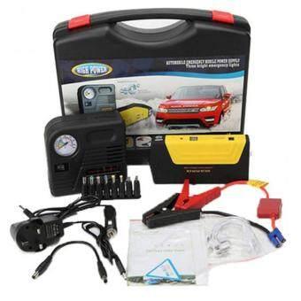 High Quality Multi-Function Car Jump Starter Gasoline/DieselPortable Battery Jump Start Power Pack Chargerแบตสำรองสำหรับสตาร์ทรถยนต์(สีเหลือง)
