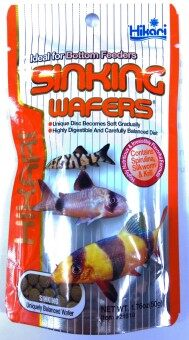 Hikari Tropical SINKING WAFERS อาหารชนิดจมน้ำสำหรับปลาก้นตู้ 110g