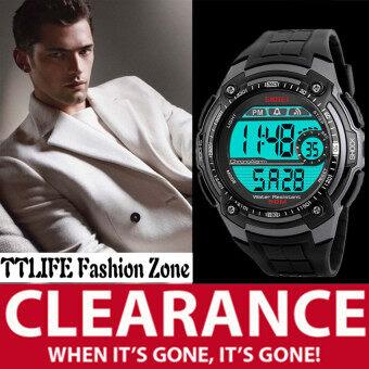 ***HOT SALE***2017 Best Quality SKMEI 1203 Fashion Sports Men's Waterproof Watch (grey)