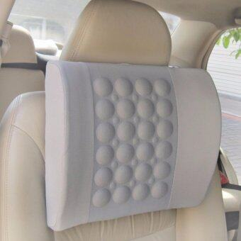 Electric Massage Pillow for Car-Grey - intl