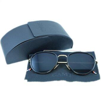 Harga GAMT TOM AVIATOR SUNGLASSES เลนส์ดำ BLACK 58 mm