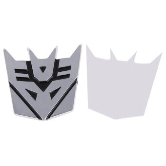 Harga Best Car Logo Decepticon Leader Transformer Car Chrome Emblem 3D Logo - Intl - intl