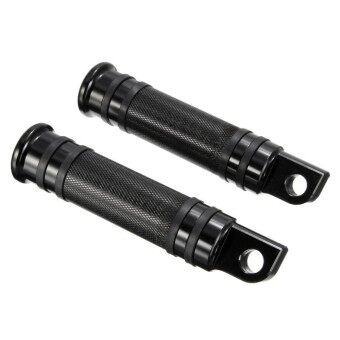Harga Models Black CNC Rear Front Foot Pegs For Harley Touring Sportster Dyna Softail - intl