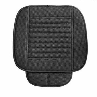 Harga BUYINCOINS Universal Bamboo Charcoal Seatpad PU Leather Auto Car Office Chairs Seat Cover - intl