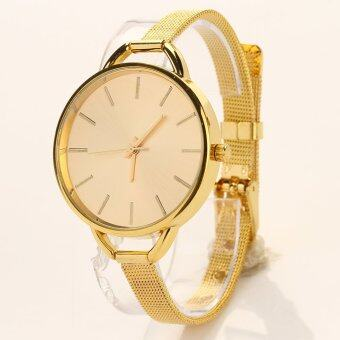 Harga JinGle Full Steel Quartz Wrist Watch (Gold)